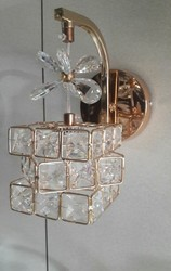 Warm White LED Crystal Wall Mounted Light