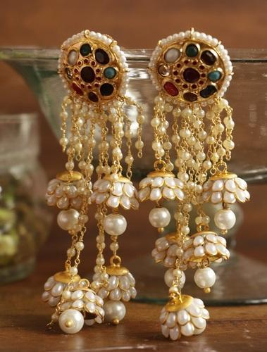 Indian Earrings Beautiful Earring Set Manufacturer From