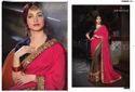 Tamannaah Bhatia Silk Bollywood Designer Half And Half Saree By Joh Rivaaj