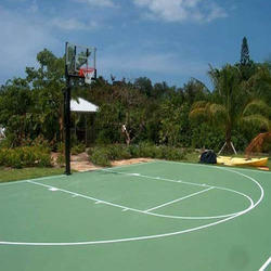 Basketball Court Flooring Construction
