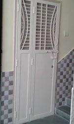 White Safety Door