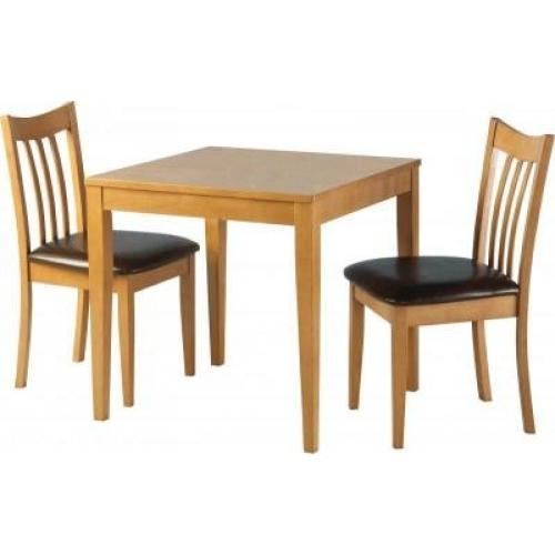 Brown 2 Seater Wooden Dining Table Set Rs 8500 Set Ms Furniture