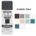 Rust Oleum Chalked Spray Paint