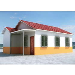 Puf Sandwich Panel Cabin - Sandwich Panel Portable Cabin