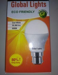 Cool White LED Bulb 9 W With 2 Years Warranty