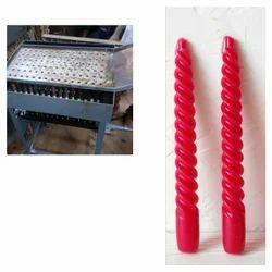 Manual Birthday Candle Making Machine, Cylindrical