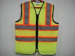 Hi-Viz Reflective Safety Jacket with Trim Reflective