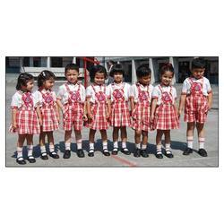 Cotton Kids School Uniform Set