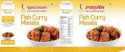 Spicceum Fish Curry Masala, Packaging Size: 100 g, Packaging Type: Packets