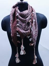 EG00024 Tassel Hanging Cotton Scarves