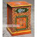Jangid Art And Crafts Indian Wooden Hand Painted Furniture