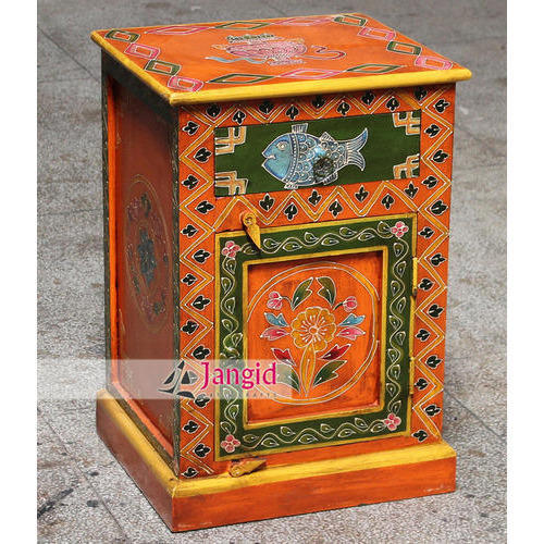 Indian Hand Painted Furniture
