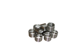 Threaded Inserts X on Spark Plug Wire Cross Section