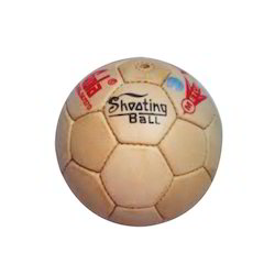 AS Leather Shooting Ball, 32, Size: 5