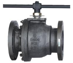 L &T 2 Piece Design Ball Valve