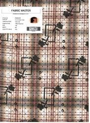 Printed Checks Fabric FM000283