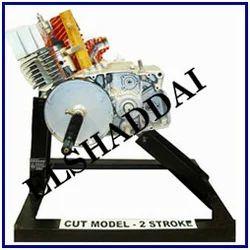 Cut Sectional Working Engine Model - Four Stroke Diesel Engine Cut
