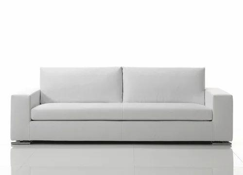 White Modern Office Sofa Rs 14000 Set