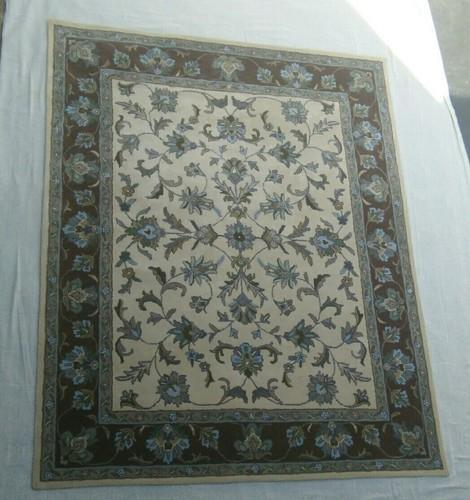 Iory Embroidered Home Floor Carpet, Size: 5 X 8 Inch