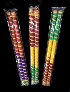 Navratri Dandiya Sticks Bamboo And Wooden Handicrafts