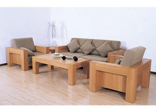 wooden sofa set with center table at rs 59990 piece wooden sofa rh indiamart com wooden sofa set with center table