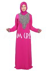 Dubai Fashion Beautiful Embroidery Maxi Dress