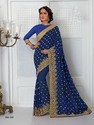 Indian Designer Embroidery Saree