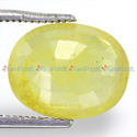 5.87 Carats Yellow Sapphire