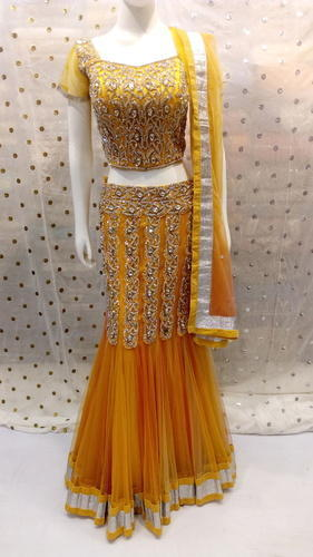 47a8447129e Manufacturer of Partywear Lehnga   Suits by Punjab Fashion Store ...