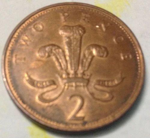 Elizabeth 2  d g Reg f d 2004 Two Pence