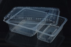 Disposable Plastic Food Container Plastic Ka Khaane Ka