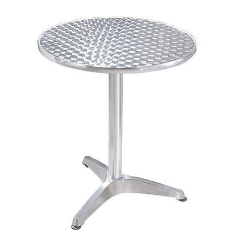 STELLAR Silver Cafeteria Table YB 504 Shape Round