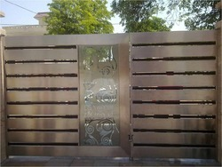 Stainless Steel Entrance Gate