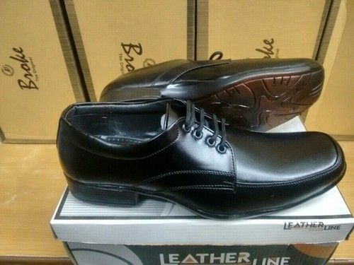 Mens Leatherline Black Formal Shoes