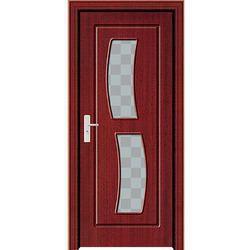 wooden pvc door