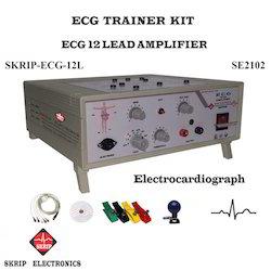 ECG Amplifier 12 Lead Trainer Kit