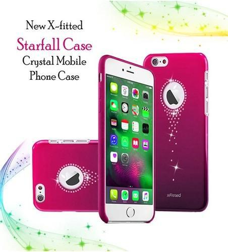 Clear Crystal Rhinestone Decoration Bling Case Cover Mobile