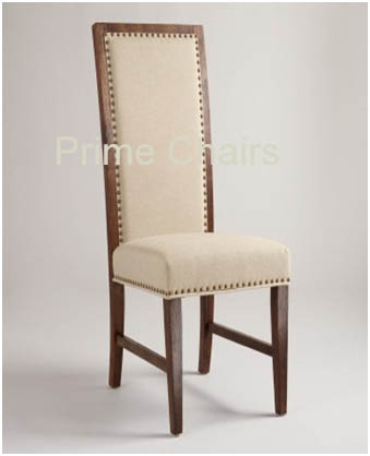 High Back Wooden Chair