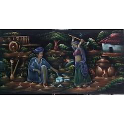 Painting of Blacksmith