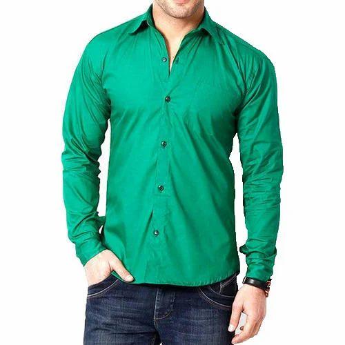 9e6377574b1 Men' s Plain Cotton Shirt