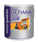 Soft Sheen Asian Paints Apex Ultima, for Exterior, Packaging Type: Can