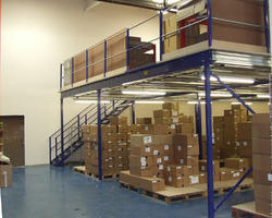 Two Tier Mezzanine Floor