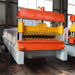 Color Coated Corrugated Roofing Sheet Making Machine