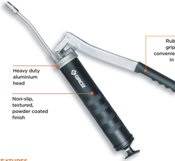 Lever Grease Gun - 6 Heavy Duty
