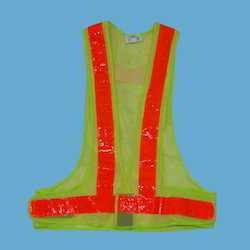 Green Safety Reflective Vest