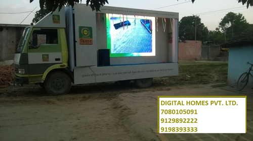 Outdoor Advertising - LED Video Van , Mobile Van, Hydraulic