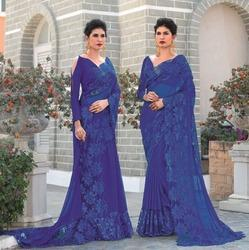 French Lace Sarees