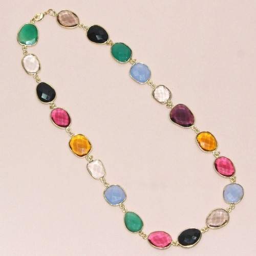 precious stone p necklace women semi hei wid a s universal thread fmt healing
