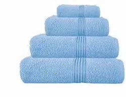 Kishan Plain Cotton Terry Towel, Weight: 450-550 GSM