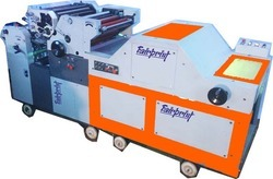 Double Color Poly Offset Machine